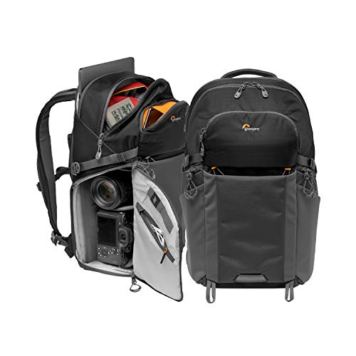 Lowepro LP37255-PWW Photo Active Outdoor-Fotorucksack (mit QuickShelf Einteiler, fasst 15