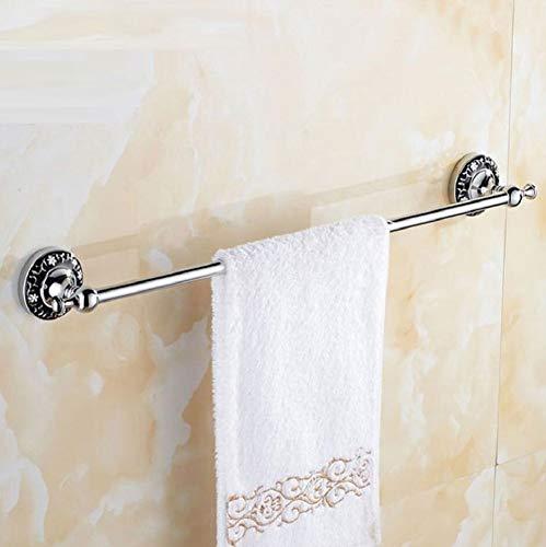 Im europäischen Stil retro geschnitzten Handtuchhalter, verschleiß- und korrosionsbeständige einpolige Handtuchhalter, Bad Kupfer Rack Glas Punch Cup