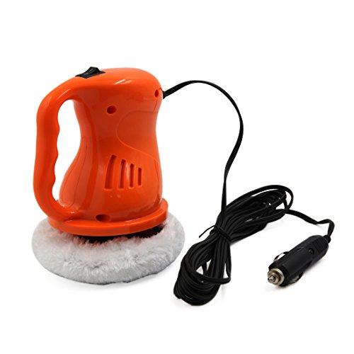 sourcingmap DC12V Orange wachsen polieren Maschine Auto elektrische Wachs Polierer Reinigung