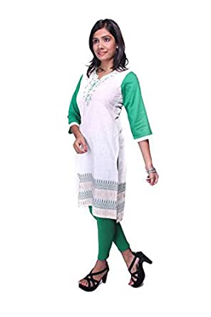 RIGA B Cotton Printed Kurti with matching legging for women