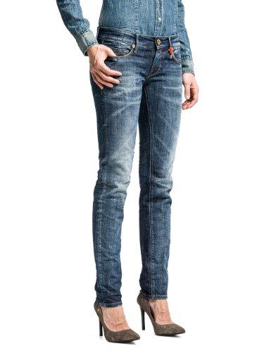 Replay Damen Jeans Rose WX613 Blau (BLUE 7)