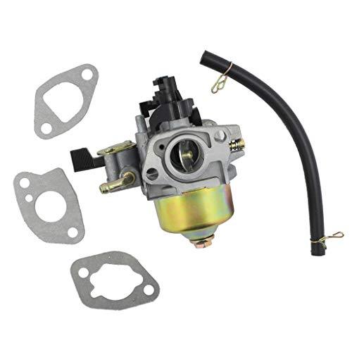 Generic Honda Vergaser GXV120 GXV140 GXV160 HR194 HR214 HR215 HR216 Rasenmäher Ersatz Vergaser + Kraftstoffrohr + Kraftstofffilter + 3 Stück Dichtung