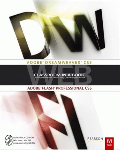 Adobe Dreamweaver CS5, Adobe Flash professional CS5 (2Cédérom)