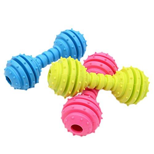 Nikgic Anti-beißende Geprägte Hanteln Pet Toys Hohe Qualität Kunststoff Silikon Spielzeug Ball Interaktive Spielzeug Entwicklung Intelligenz Spielzeug