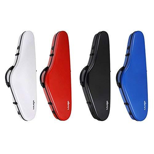 Faserverstärkter Violinenkoffer, groß (4/4), hohe Qualität. 4 Farbvarianten. 4/4 Full size blau