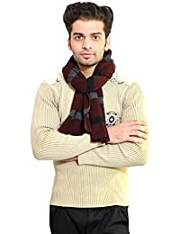 513 Stripes knitted multi coloured winter soft and warm men's muffler