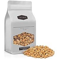 1 kg de cacahuetes tostados en seco de HUSK - envase resellable