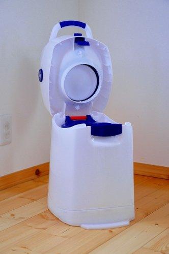 Geruchsdichter Windeleimer Diaper Champ regular blau – für normale Müllbeutel - 12