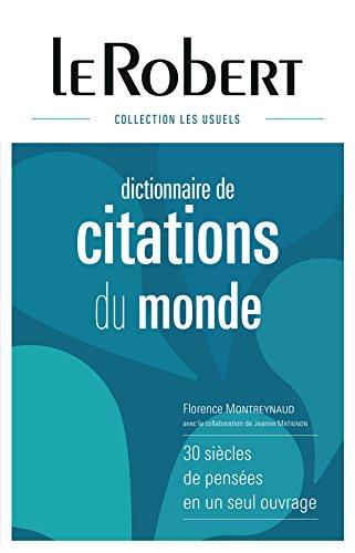 Dictionnaire de citations du monde - Grand format