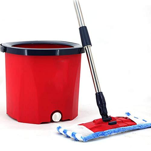 Axdwfd mocio rotante doppia guida lavare a mano libera pressione della mano disidratazione automatica singolo secchio mop
