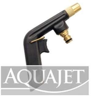 Aquajet 470B Aluminium Spray Gun Lackiert mit Epoxy Antiscratch Paint in Blister, Silber, 30x 30x 30cm