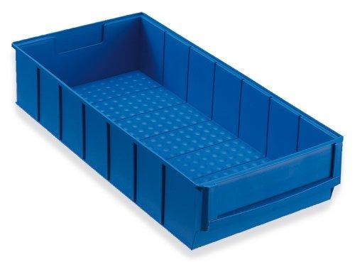 Preisvergleich Produktbild 12 Industriebox blau 400x183x81 mm Stapelboxen Stapelbox Stapelkästen Stapelkasten universalboxen Lagerkisten Lagerkiste lagerbehälter kunststoffkisten Stapelkiste Stapelkisten aufbewahrungskiste aufbewahrungskisten kunststoffkiste Universalkiste