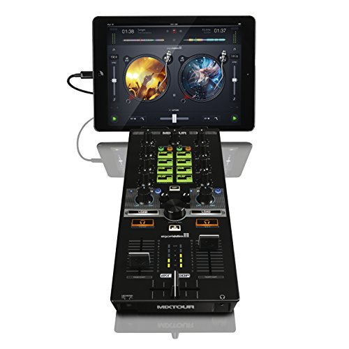 Reloop Mixtour Portabler USB All-In-One DJ Controller schwarz