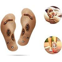 Magnetische Einlegesohlen, Frauen-Fußmassagegerät, zuschneidbar, magnetische Therapie, Akupressur-Schuhpads zur... preisvergleich bei billige-tabletten.eu