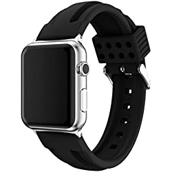 For Apple Watch Band, Fulltime(TM) Sports Silicone Bracelet Strap Band For Apple Watch Series 2/1 38mm