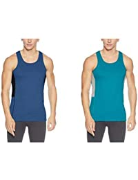 Chromozome Men's Cotton Vests - Pack of 2