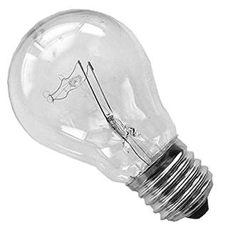 100x Glühbirne 60 Watt Klar E27 Gluehlampe