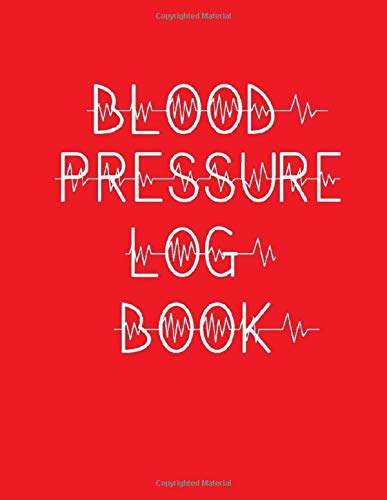 Blood Pressure Log Book: Keep a track of your blood pressure reading with this handy-sized log book.