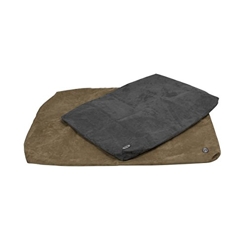 Buster Bezug für Hundebett, aus Memory-Schaumstoff, 100x70cm, Grau