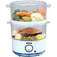 Jocca 5555–Système de cuisson à la vapeur, couleur blanc et bleu