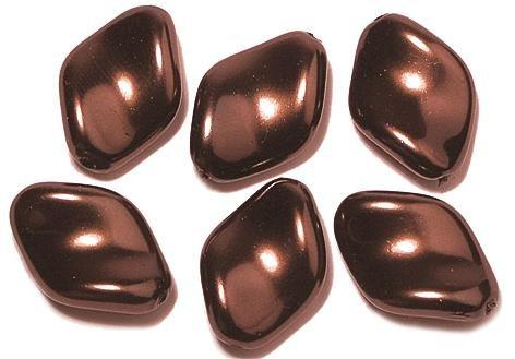 Rayher Hobby 14408532 - de la Renaissance Olive, 9 x 6 mm, boîte 20 pièces, Nougat