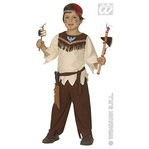 Widmann-WDM4379B Kostüm für Mädchen, weiß braun, WDM4379B