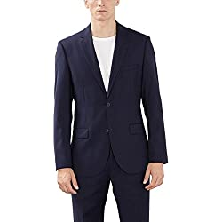 Esprit Collection 993Eo2G902 - Chaqueta de traje para hombre, Azul (dark navy 420), X-Large