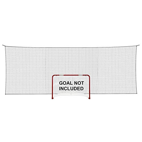 Better Hockey Extreme Backstop Net XL - Größe 7,5 x 2,65 m - Eishockey Fangnetz