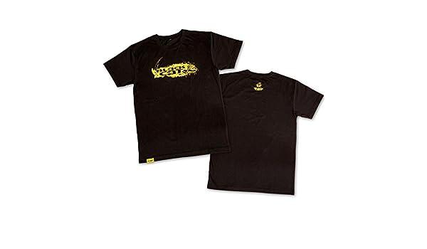 Angler Shirt per Angler Maglietta per Catfishing /Angel Shirt per Waller Angler Black Cat T-Shirt Nero/ Maglietta