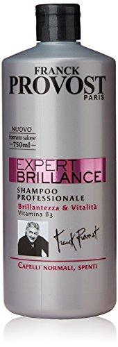 Franck Provost Expert Brilliance Shampoo Professionale per Capelli Normali Spenti, 750 ml