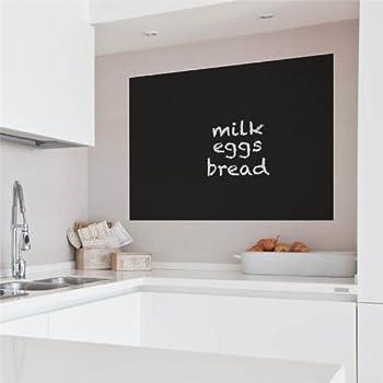 supertogether ardoise grand tableau noir sticker autocollant 57 5cm x 100cm cuisine. Black Bedroom Furniture Sets. Home Design Ideas