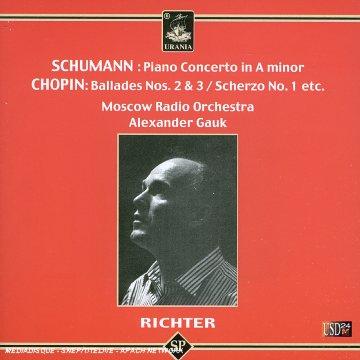 concerto pour piano opus 54, ballade n°2 opus 38...