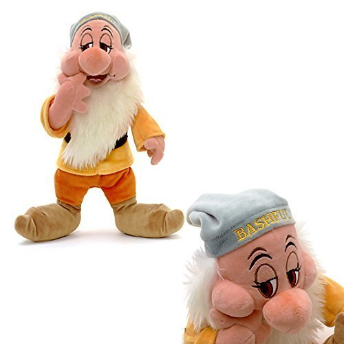 Disney Official Snow White and The 30cm Seven Dwarfs Shy Soft Stuffed Toy