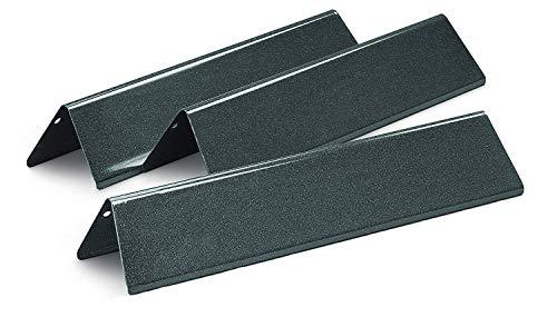Bar.b.q.s Ersatz BBQ Gasgrills Porzellan-emaillierte Stahl Flavourizer Bars für Weber Spirit 200 Series ((3 / 15,3