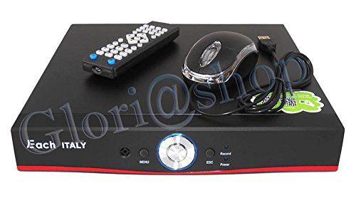 DVR 8CH AHD VIDEO FULL HD VIDEOREGISTRATORE H.264 RISOLUZIONE 1080