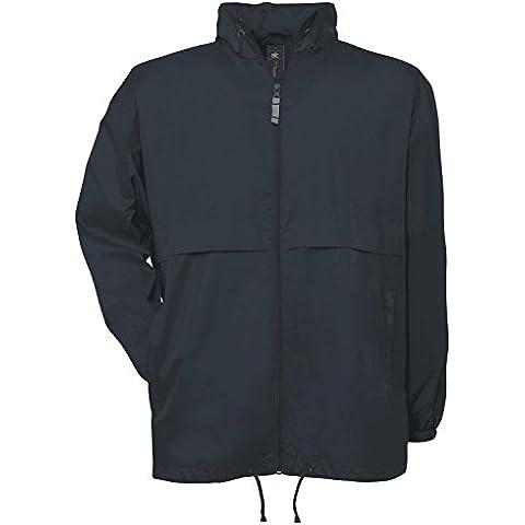 B y C para hombre Air Collection forrado rompevientos chaqueta con cremallera pl