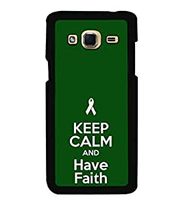 iFasho Nice Quote On Keep Calm Back Case Cover for Samsung J3