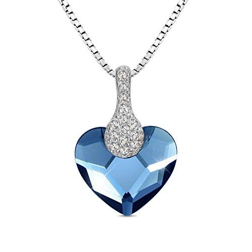 t400juweliere-etenal-pure-love-925sterling-silber-blau-herz-halskette-mit-anhnger-aus-swarovski-kris