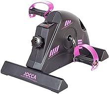 Comprar Jocca 6190P - Pedaleador con display, color negro / rosa