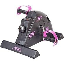 Jocca 6190P - Pedaleador con display, color negro / rosa