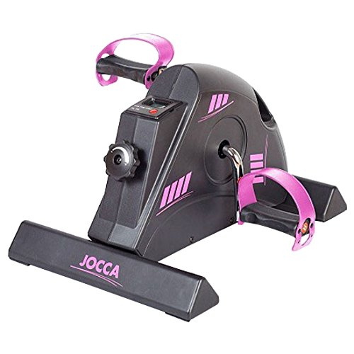 JOCCA 6190P - PEDALEADOR CON DISPLAY  COLOR NEGRO / ROSA