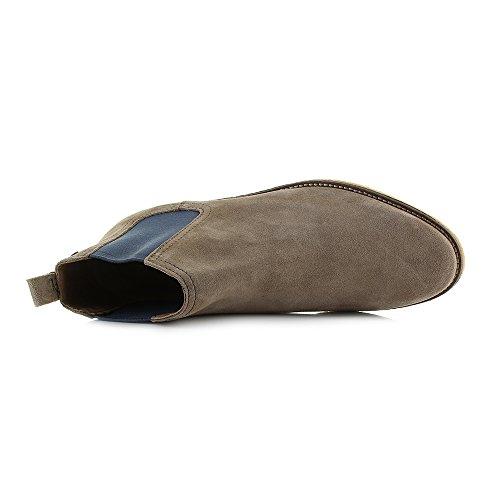 Base London Mens Ferdinand Suede Shoes Tuape Pop