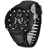 abfe9c1b3c33 Bestow Reloj Impermeable Luminoso al Aire Libre SYNOKE Reloj Deportivo  Multiuso Hombres de la Funci¨