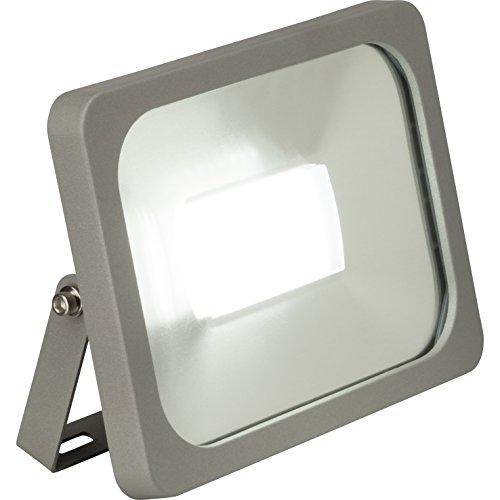 Brilliant AG G96281/22 Projecteur Extérieur Aluminium/Plastique 30 W Gris