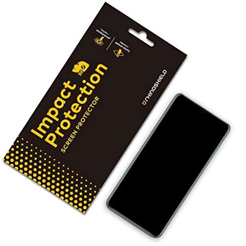 Rhino Shield Screen Protector für Huawei P30 Lite [Impact Flex] | Edge to Edge/Schockresistent/Kompatibel mit Fingerabdruck Sensor - Klarer und Kratzresistenter Displayschutz (Rhino Shield-screen Protector)