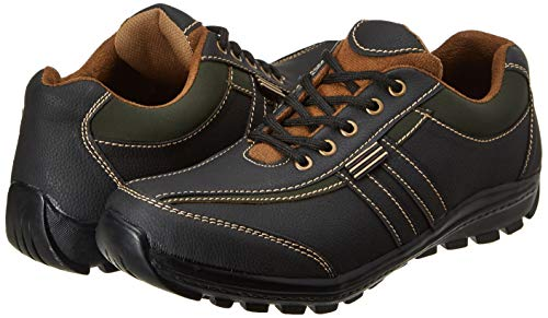 Centrino Men's 1147 Black Hiking Boots-7 UK/India (41 EU) (1147-01)