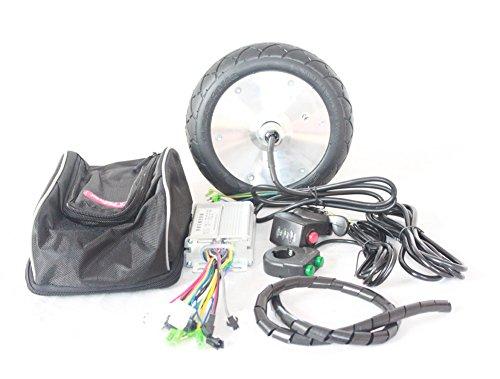 36V 150W Eléctrico Patinete Motor Kit Town 9Scooter Motor Juego 200* 50Motor de rueda de de 8pulgadas eléctrico de buje Motor de Brushless No Engranaje