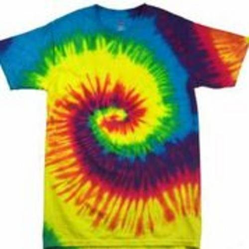 Rainbow Tie Dye Pattern Shirt. Available in many colours and sizes.