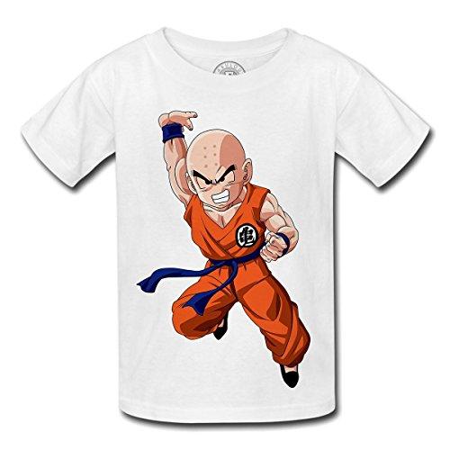 T-shirt Enfant Dragon Ball Z anime manga japan krillin
