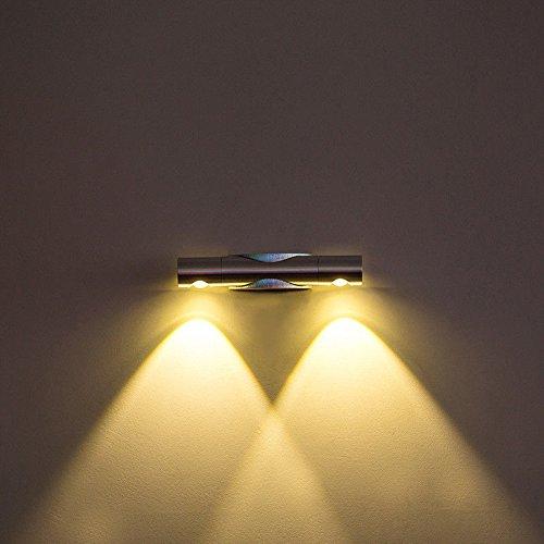 GGRXA Vintage Industrial Style Wandleuchte Wandleuchte Lampe Kreatives Balkon-Treppenhaus-rustikales Kinderzimmer-Schlafzimmer-warme...